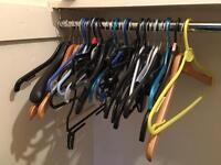 Free coat hangers