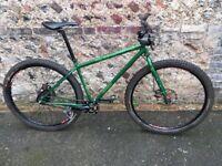 Genesis Fortitude Adventure 29er Mountain Bike. Size Medium. 17.5 in Frame