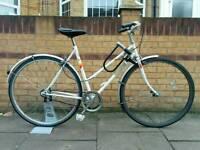 Women's Vintage Bike - single speed freewheel