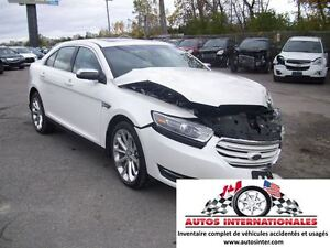 2016 Ford Taurus LIMITED AWD 4X4 V6 3.5L FULL EQUIPPEE SPOILER C