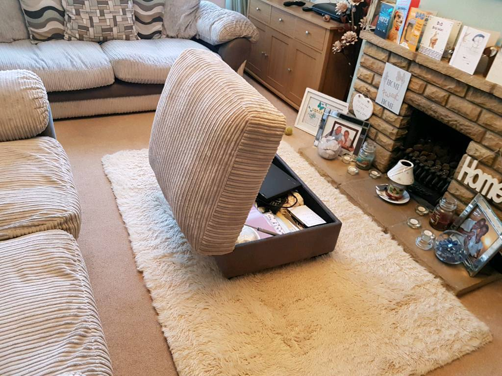 Settees and storrage stool
