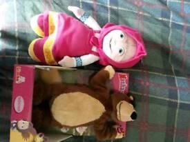 Masha and the bear toys