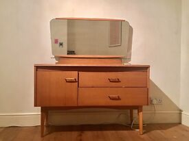 MID CENTURY DRESSING TABLE - reduced price!