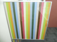 4x IKEA TOMBO GLASS DOORS - 60cm x 64cm - COLLECTION ONLY