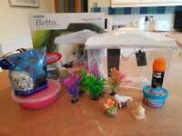 Marina beta aquarium fish tank
