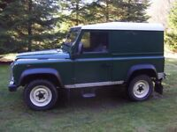 WANTED Land Rover Defender 90/110 (200 tdi/ 300 tdi / td5 / tdci diesel) 4x4