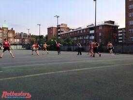 Mixed netball league in Camden - men & women wanted