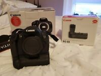 Canon EOS 700d body and battery grip