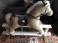 rocking horse for toddlers clean & safe can be delivered