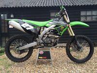 2010 Kawasaki KX 450F EFI motocross bike, KTM RM, CR, YZ