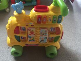 Baby walker toy train