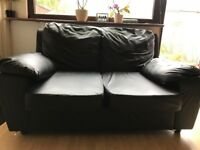 Sofa Two Seater Italian Leather