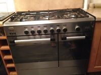 BAUMATIC BC392.2TCSS Dual Fuel Range Cooker - Stainless Stee