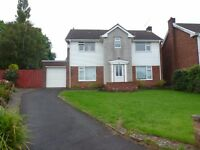 Large Detached House, Lomond Crescent, Cyncoed. £1200 PCM, Available NOW until JUNE! Fully furnished