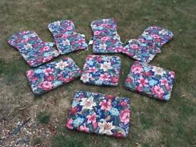 Selection of outdoor cushions
