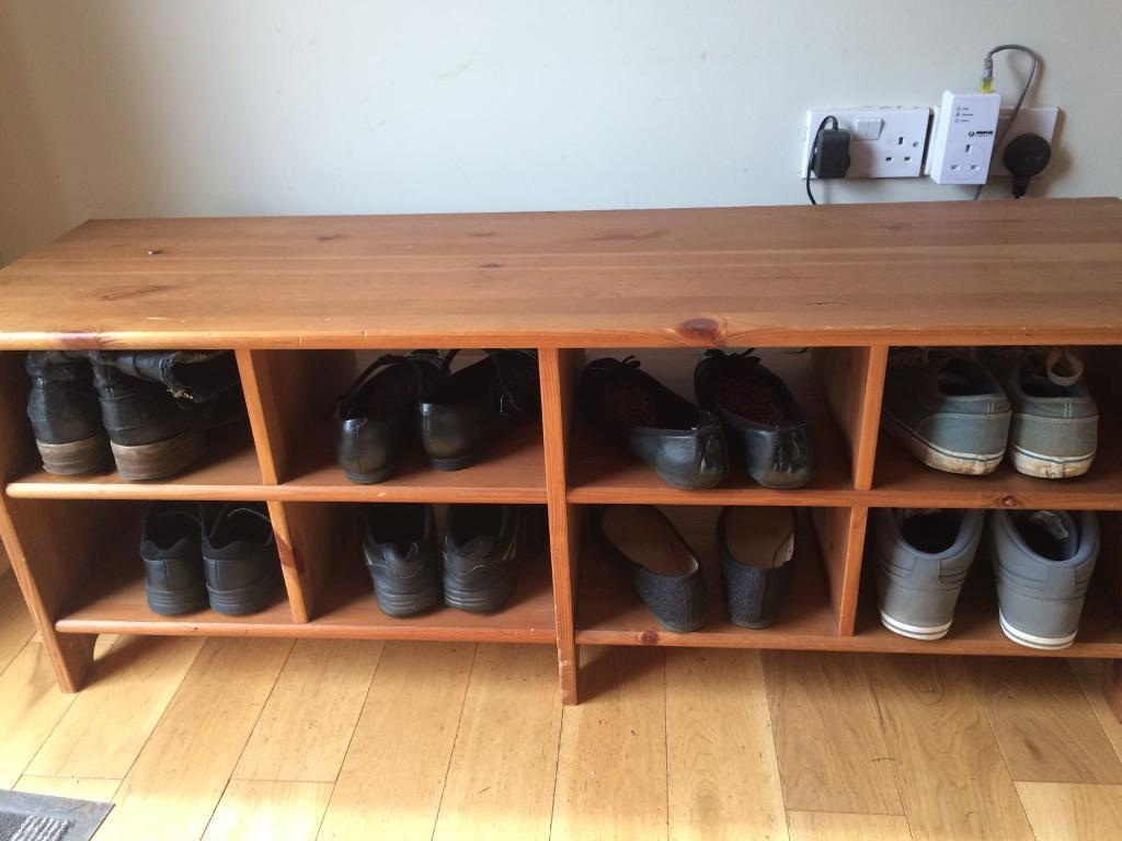 Ikea Leksvik Shoe Rack Storage Bench In Redhill Surrey