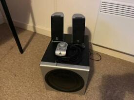 Logitech Z2300 2.1 speaker system (200w RMS)