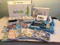 Nintendo Wii, Nintendo Wii Fit + 14 Games