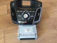 Ford Focus radio unit and panel 2011-2014
