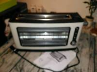 Kitchen originals toaster, see through glass panel, as new