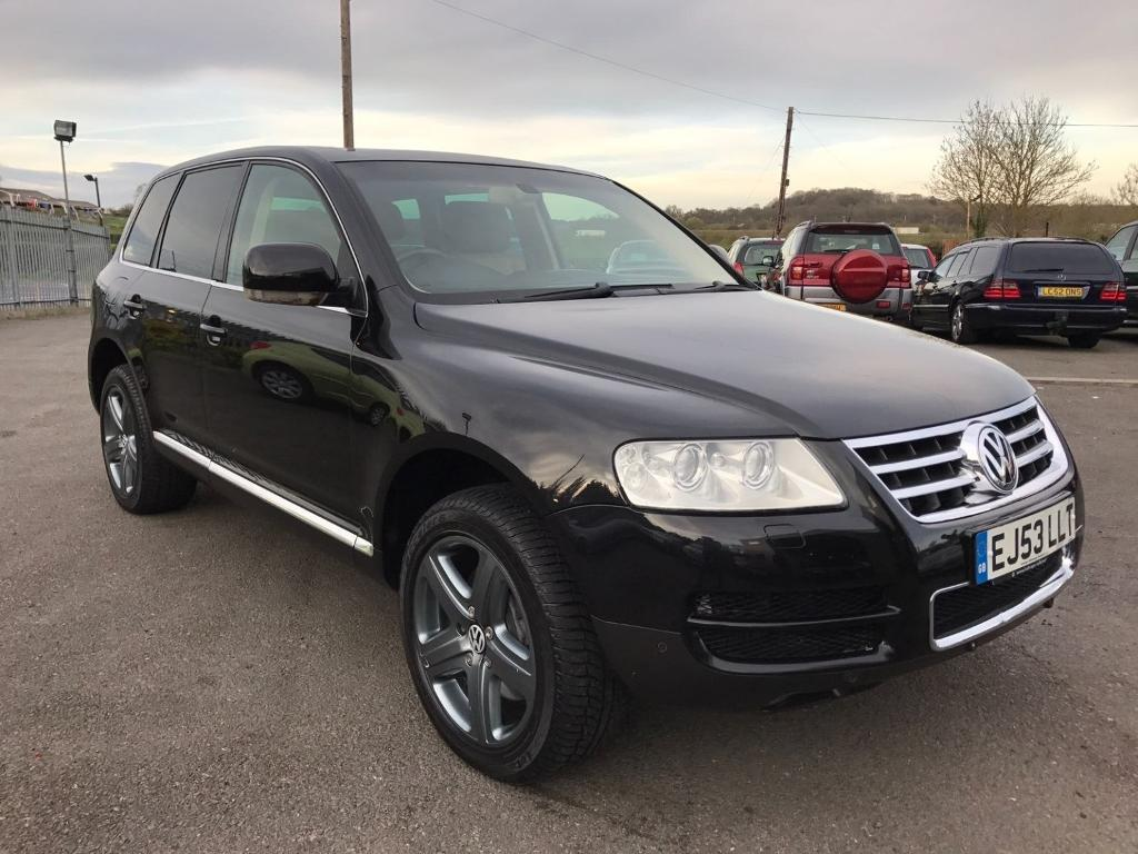 volkswagen touareg 5 0 v10 tdi 4x4 automatic black 2003 in maidstone kent gumtree. Black Bedroom Furniture Sets. Home Design Ideas
