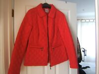 LIGHT QUILTED JACKET IN RASPBERRY COLOUR BRAND NEW!