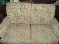 Free to pick up two seater sofa and two single chairs