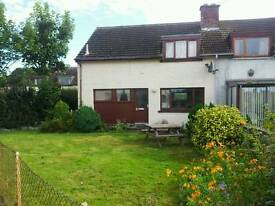 Available June 2017: 2 Bedroom semi detached house for rent