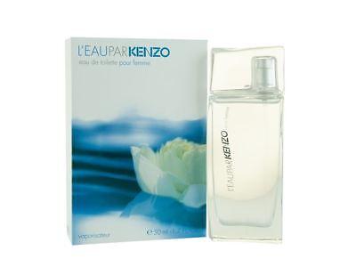 Kenzo L'Eau Par Kenzo Pour Femme Eau de Toilette 50ml Spray Women's NEW.