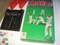 VINTAGE International Cricket, 1970s Board Game, For Dads and Granddads.