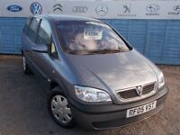 PART X DIRECT OFFERS A VAUXHALL ZAFIRA 1.6 (7SEATER) WITH NEW MOT AND SERVICE AND TIMING BELT!!!