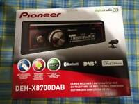 Pioneer DEH-X8700DAB Bluetooth DAB Car Radio