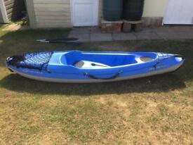 Blue BIC Bilbao Kayak