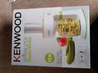 Kenwood Spiralizer brand new in box