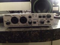 ROLAND EDIROL UA-25 USB & MIDI AUDIO INTERFACE CAPTURE 24 BIT
