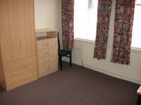 furnished single+double room £60 pw inc bills drewry lane on uni bus route