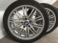 Genuine BMW Winter alloys and Tyres