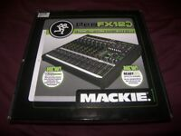 Brand New ! Mackie ProFX12 V2 , Professional Mixer + USB Recording Interface. Setup via Mac or PC.