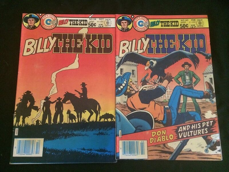BILLY THE KID #138,140