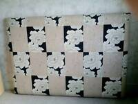 Brand new wall mounted double bed head board
