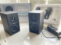 Speakers - Fostex PM0.3d Active Speaker System