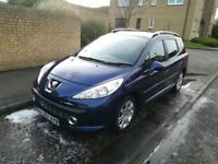 Peugeot 207 SW sport Estate 1.6 with service history