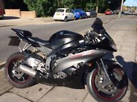 Yamaha YZF-R6 - Black - 8 Months MOT - HID Headlight - Both New Michelin Tyres