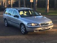 2002 VOLVO V70 D5 SE DIESEL ESTATE HEATED LEATHER LOW MILES V 70 V50 PX BARGAIN