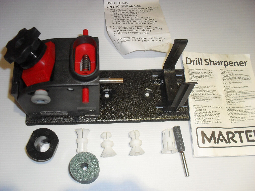 drill sharpening machine atachment