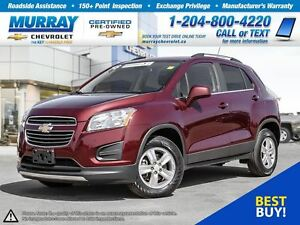2016 Chevrolet Trax LT *All Wheel Drive, Sunroof, Rear View Came
