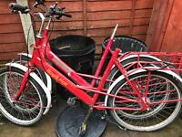 3 postmans delivery bikes for spares or repairs