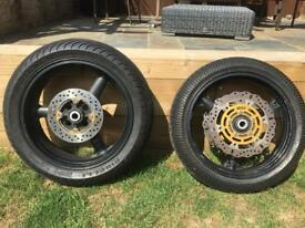 2003 b1h zx6r wheels