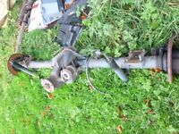ford transit 2009 year back axle