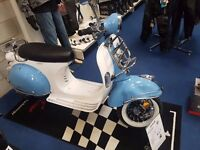 AJS Modena 50 or 125cc Scooter, Classic Vespa style, CBT learner legal Finance options availible